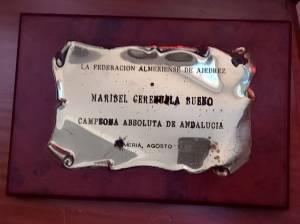 Campeonato de Ajedrez Absoluto Femenino, agosto 1993